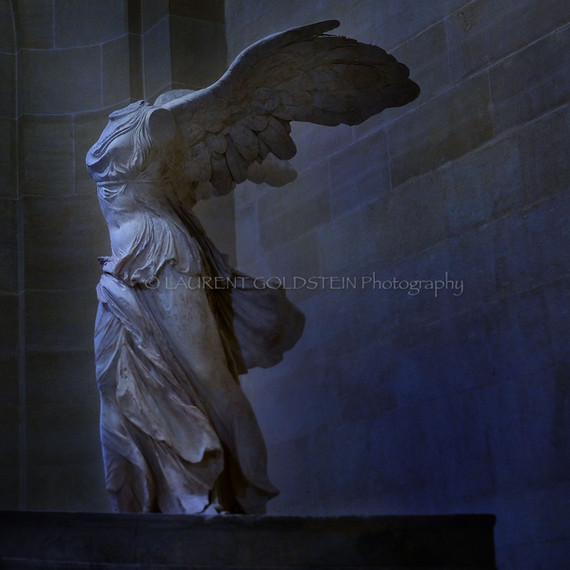 """Winged Victory of Samothrace"""