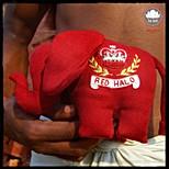 """Toy """"Ganesha"""" - wool with zardozi embroidery"""