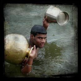 Offering Water in Devotion