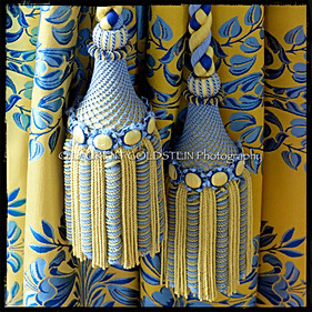 Tassels in Yellow & Blue Shades