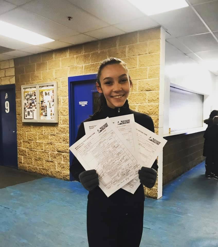 Sophia Mazza HVFSC Test Session Intermed