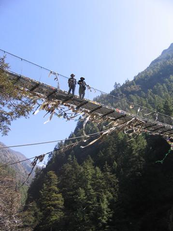 Bridge on Everest Trek