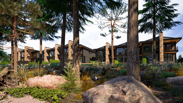 The Strand - Waterfont homes - Exterior