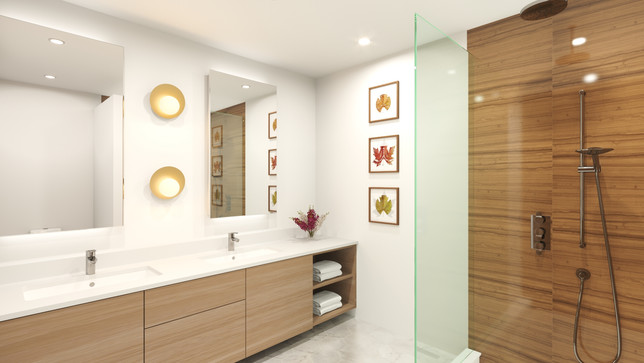 The Strand - Waterfont homes - Bathrooms