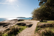 Breathtaking Views of the Trail Islands