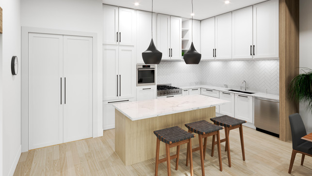 The Strand - Waterfont homes - Kitchen