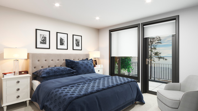 The Strand - Waterfont homes - Master Bedroom