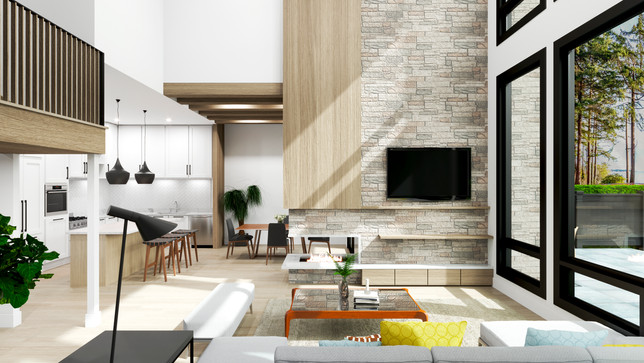 The Strand - Waterfont homes - Interior