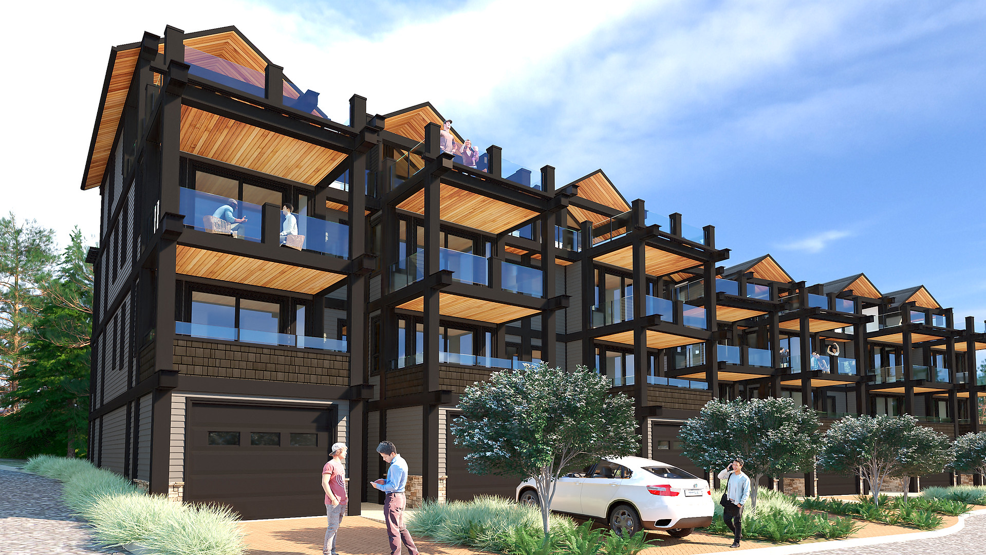 The Strand - Oceanview Townhomes - Exterior