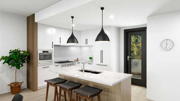 The Strand - Oceanview Townhomes - Kitchen