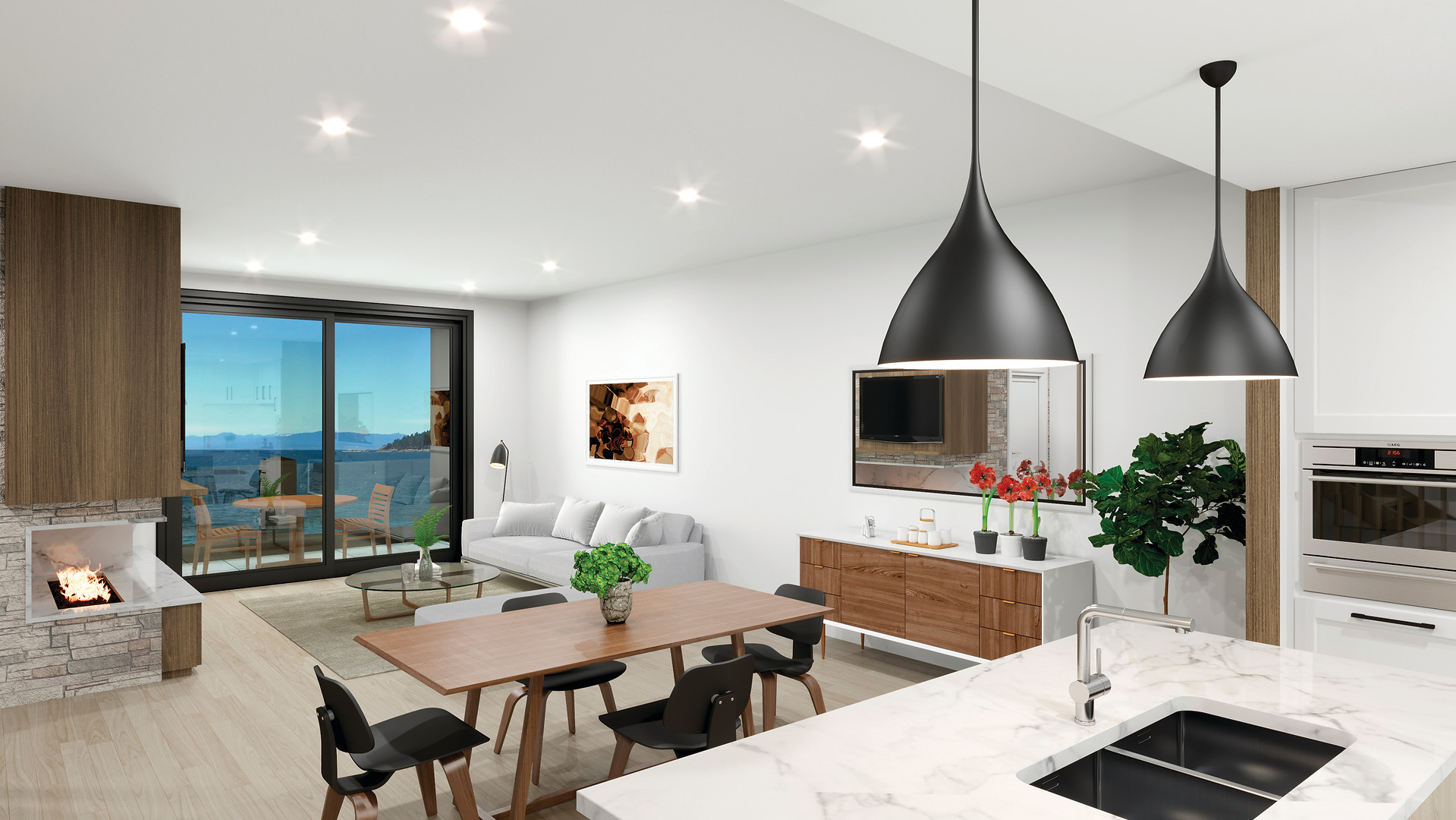 The Strand - Oceanview Townhomes - Interior