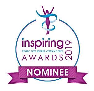Inspiring Awards Official Nominee Ribbon