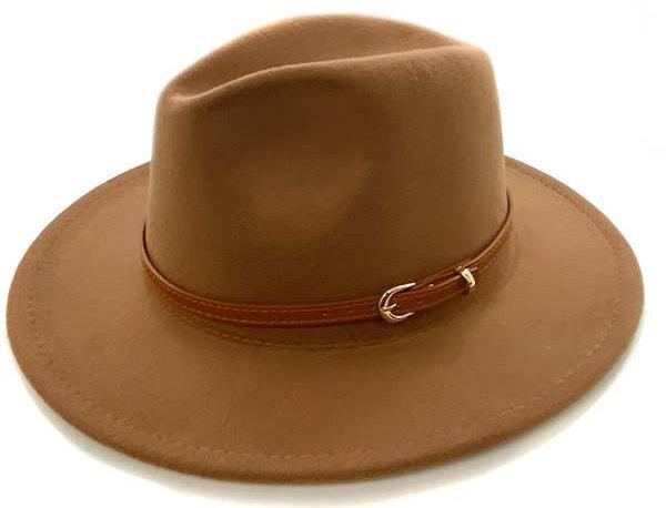 Retro Flat Brim Panama Hat