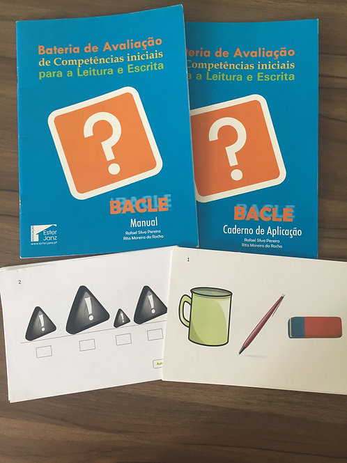 BACLE-Bateria de Competências Iniciais para Leitura e escrita