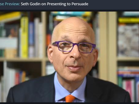 Seth Godin: Powerful Presentations (online kurz + kupón na slevu!)