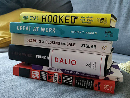 6 knih, které posunou vaši práci kupředu