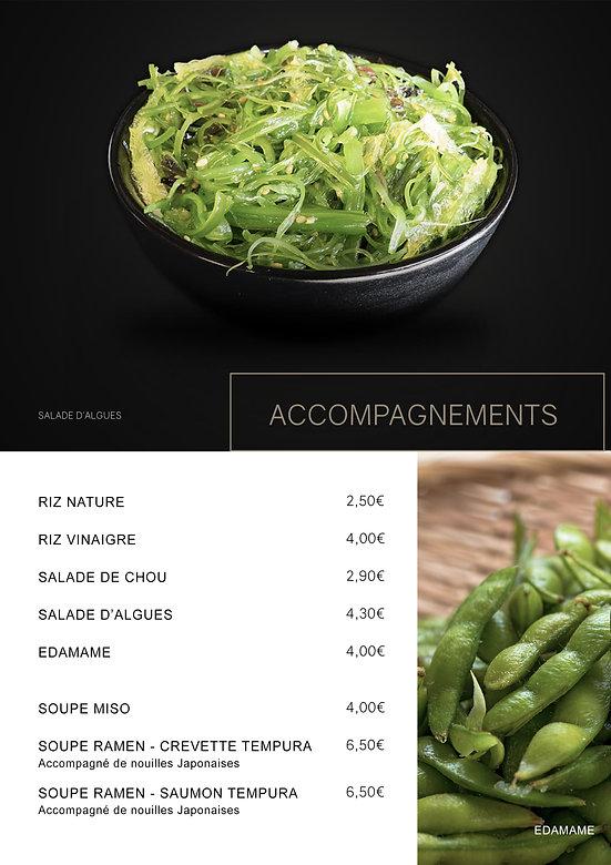 Accompagnements - Htag sush - Mandelieu - Sushi