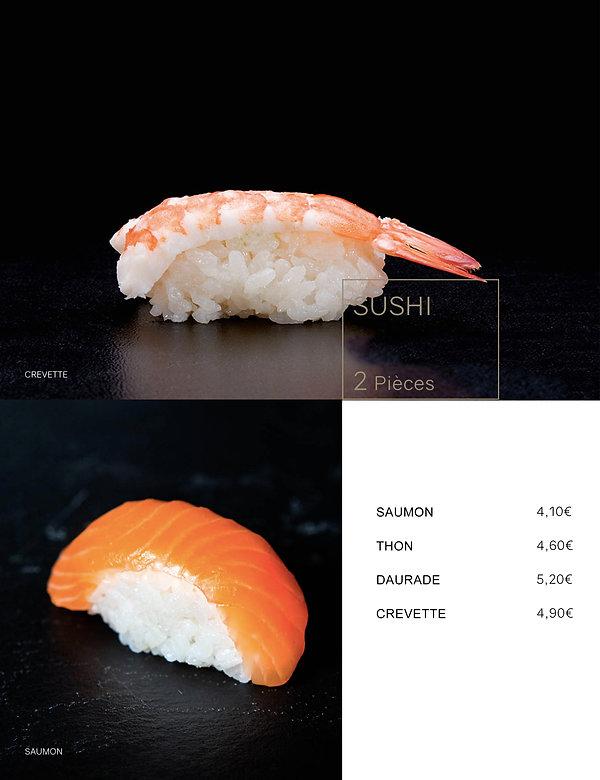 Htag sush - Mandelieu - Sushi - Menu - niggiri