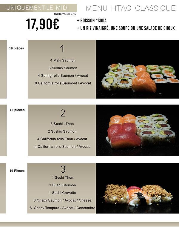 Htag sush - Mandelieu - Sushi - Menu - Plateaux