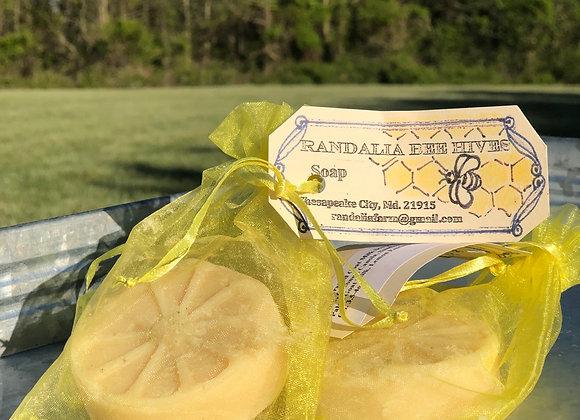 Goat Milk Soap (Lemon Essential Oil)