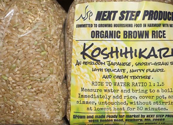 Organic Koshihikari Rice 1lbs