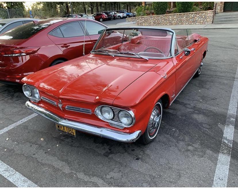 1962 Monza Convertible