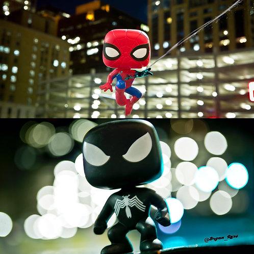 Spiderman Collage