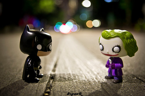 The Dark Knight Rises: Batman & Joker 1