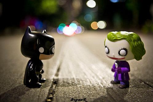 The Dark Knight Rises: Batman & Joker 1