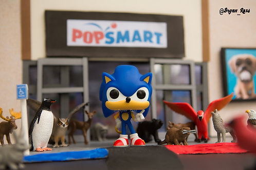 Sonic The Hedgehog @ Pops Mart