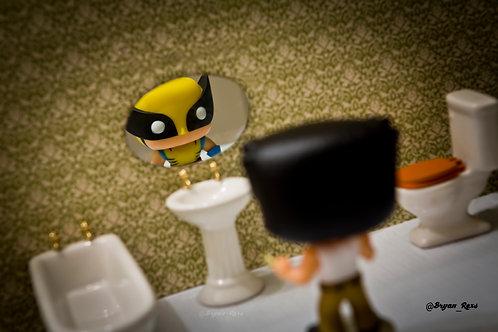 Wolverine vs Logan