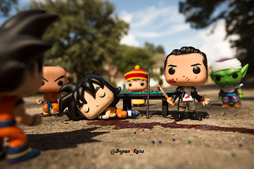 Negan Vs Dragonball