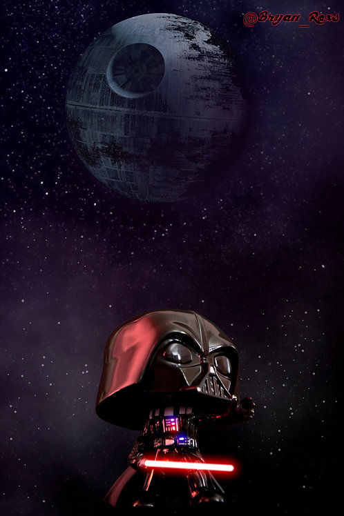 Darth Vader & The Death Star