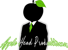 APPLE HEAD PRODUCTIONS LOGO 2021 with wh