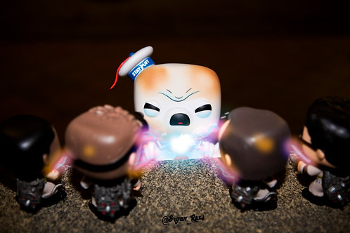 Ghostbusters vs StayPuff