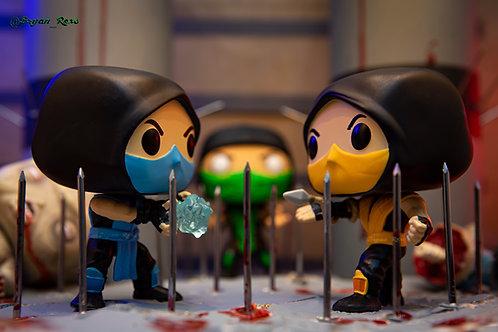 Pit Stage: Sub Zero vs Scorpion (Round 4)