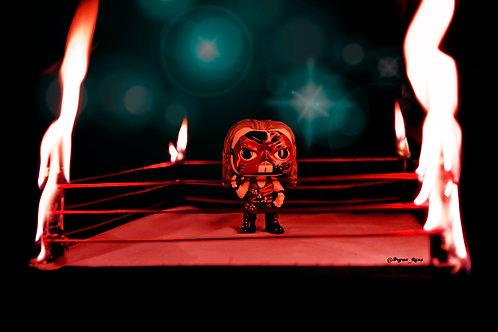 Kane in Fire Ring