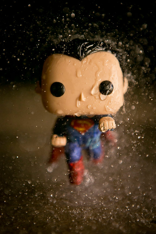Superman vs Batman: Superman Rain Shot 1