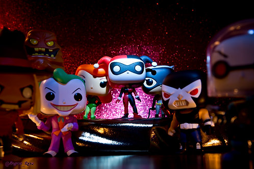 Batman Animated Series Harley Quinn Center Stage