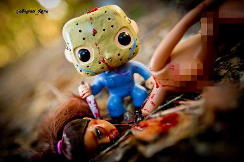 Jason Voorhees murder scene