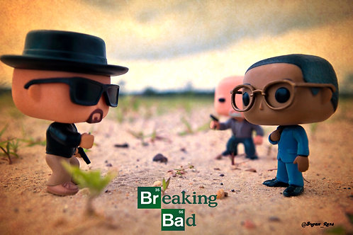 Walter White Vs Gus Fring & Mike Ehrmantraut