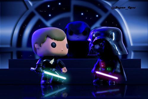 Star Wars: Luke Vs Vader