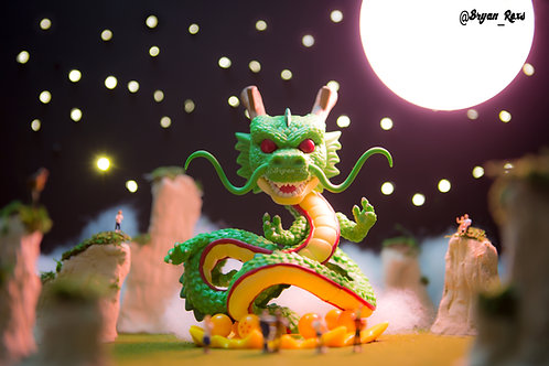 Shenron summoned by locals