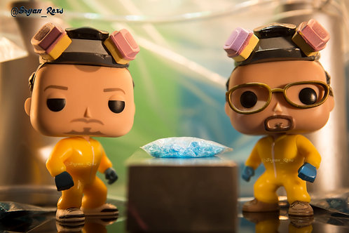 (Breaking Bad) Jesse and Walter after a cook