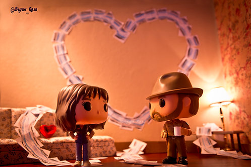 Chief Hopper & Joyce Valentine