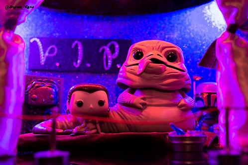 Jabba the Hutt, Princess Leia, Bobba Fett & Han Solo in V.I.P (Club Pop Dat 2)