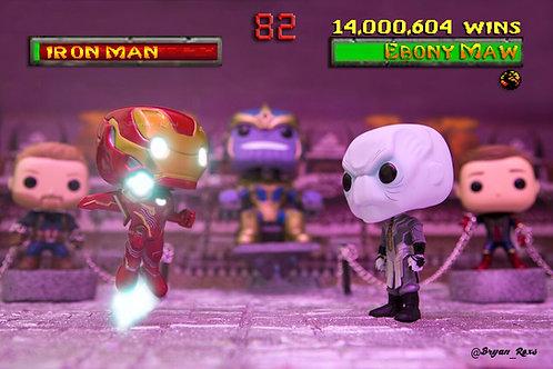 Ironman Vs Ebony Maw & Thanos at Kahn's Arena (Mortal Combat2)