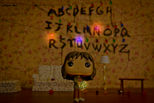 Stranger Things Alphabet Wall