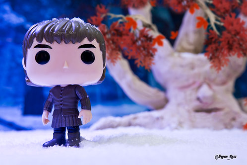 Bran Stark by Weirwood Tree