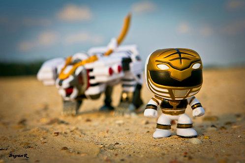 White Ranger & White Tiger Zord